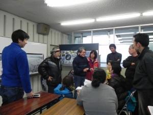 千葉20120121砂浜海岸生物調査