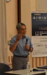 20140713北海道2_講演する向井 宏