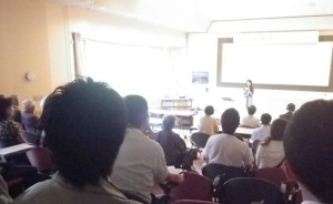 20140713北海道5_講演会+ミニコンサート会場のようす