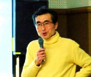佐藤正典さんの熱の入った講演