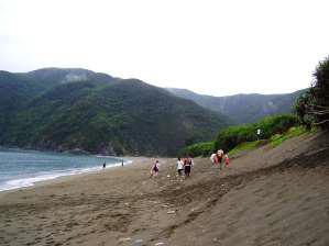 10 年ほど前の嘉徳海岸